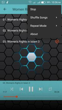 Women Rights in Islam Mp3 apk screenshot