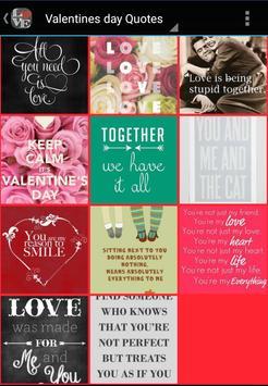 Valentines Day Quotes apk screenshot