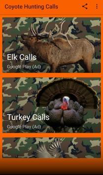 Coyote Hunting Calls screenshot 1