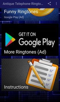 Antique Telephone Ringtones screenshot 2