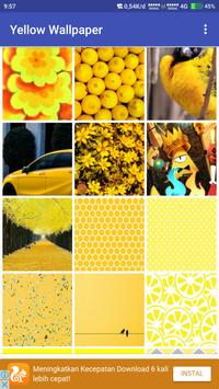 Yellow Wallpaper apk screenshot