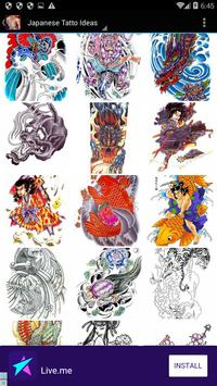 Japanese HD Tattoo Wallpaper apk screenshot