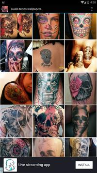 Skulls Tattoo Wallpapers apk screenshot