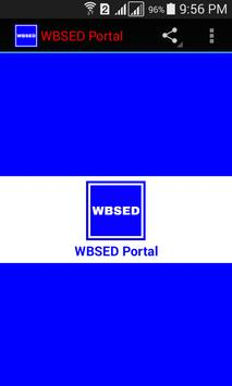 WBSED Portal poster