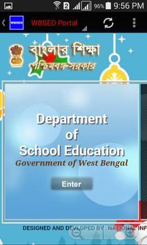 WBSED Portal screenshot 1