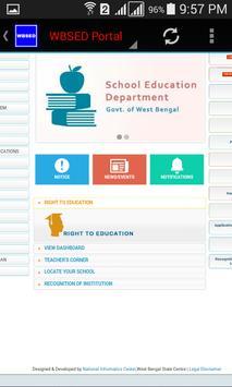 WBSED Portal screenshot 3