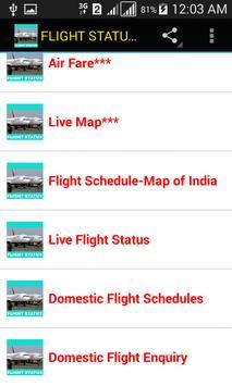 FLIGHT STATUS OF INDIA apk screenshot