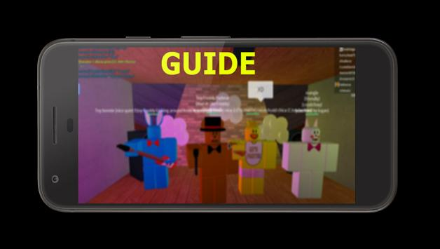 Guide for FNaF [Roblox] poster