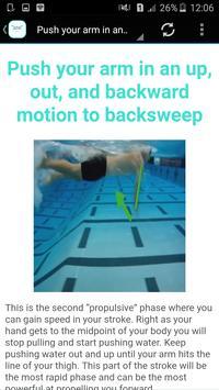 swimming classes apk screenshot