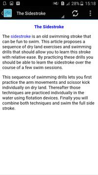 swimming techniques screenshot 1