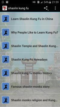 shaolin kung fu poster