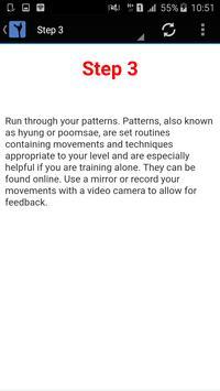 Taekwondo apk screenshot