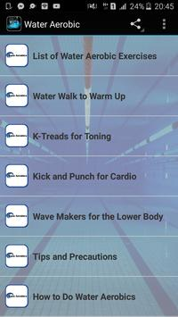 Water Aerobic poster