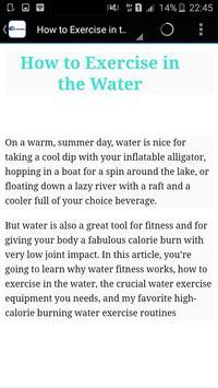 Water Aerobics screenshot 1