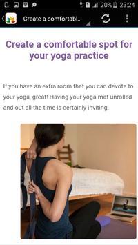 Yoga apk screenshot