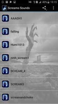Scream Sounds poster