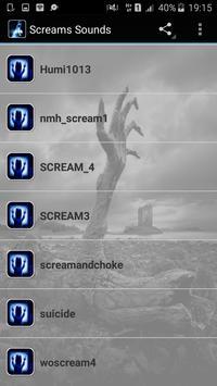 Scream Sounds screenshot 2