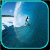 Ocean surf icon