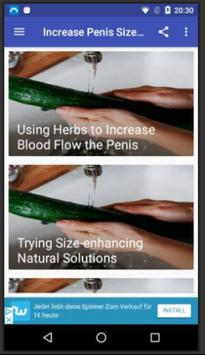 Increase Penis Size screenshot 1