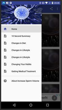 Increase Sperm Volume poster