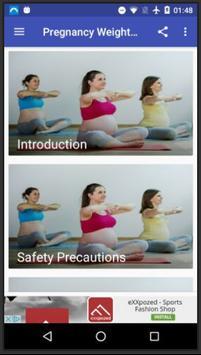 Pregnancy Weight Loss screenshot 1