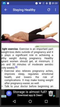 Pregnancy Weight Loss screenshot 4