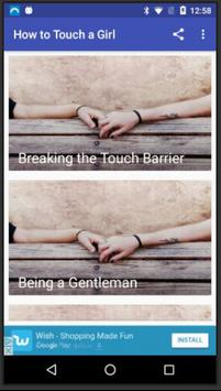 How to Touch a Girl poster