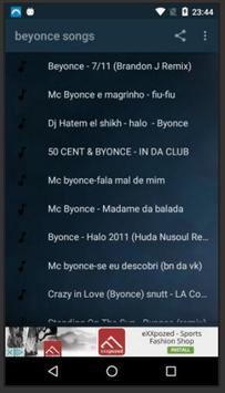 Beyonce Songs poster