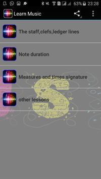 Learn Music apk screenshot