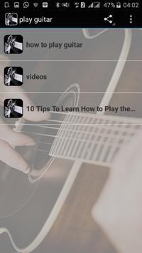 play guitar apk screenshot