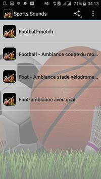 Sports Sounds apk screenshot