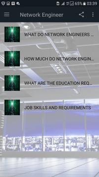 Network Engineer poster