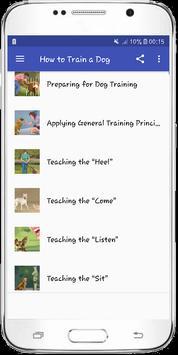 How to Train a Dog apk screenshot