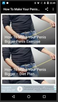 bigger make penis Hole your to