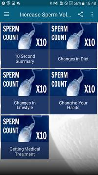 Increase Sperm Volume poster