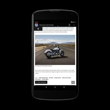 Motorbike News Hub screenshot 2