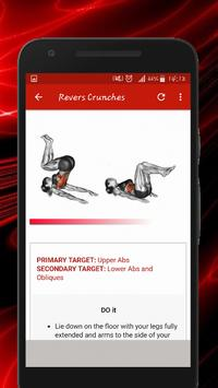 Six Pack & Abs Workouts скриншот 3
