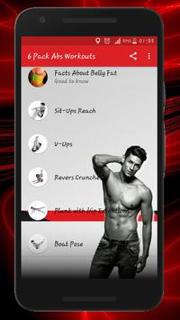 Six Pack & Abs Workouts постер