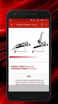 Six Pack & Abs Workouts скриншот 5