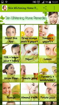 Homemade Skin Lightening Remedies And Treatments poster