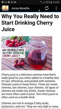 Fat Burning Juice -7days plan apk screenshot