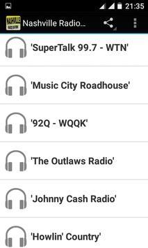 Nashville Radio Stations screenshot 1