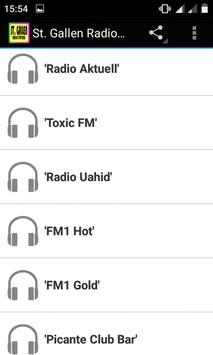 St. Gallen Radio Stations screenshot 1