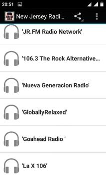 New Jersey Radio Stations screenshot 1