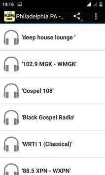 Philadelphia - Radio Stations poster