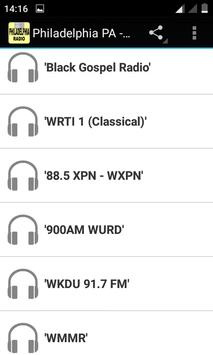 Philadelphia - Radio Stations apk screenshot
