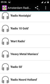 Amsterdam Radio Stations apk screenshot