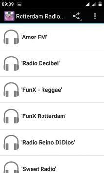 Rotterdam Radio Stations poster