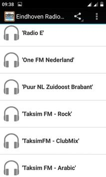 Eindhoven Radio Stations poster