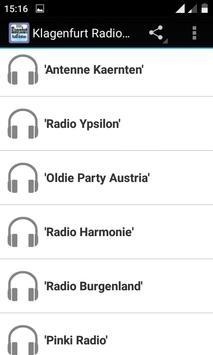 Klagenfurt Radio Stations apk screenshot